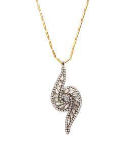 Elizabeth Cole | Brewer Crystal Pendant Necklace