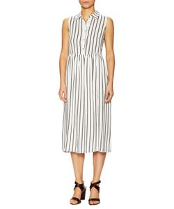 Lucca Couture | Striped Midi Shirtdress