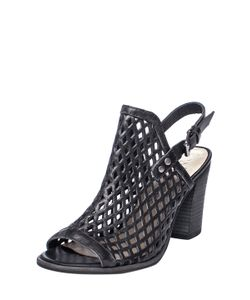 Matisse | Centered Perforated Leather Sandal