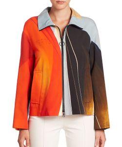 Akris Punto | Main Sail Print Cotton Jacket