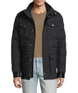 J. Lindeberg | Foreman 56 Quilted Melange Puffer Jacket