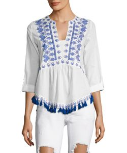 KAS | England Cotton Embroidered Blouse