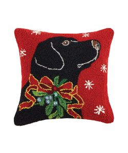 Phi | Lab With Holly Ribbon Wool Cotton Pillow