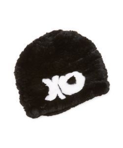 JOCELYN | Knitted Rabbit Fur Hat