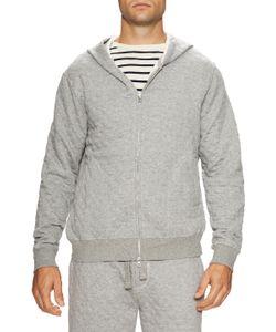 Jachs   Full Zip Quilted Hooded Sweatshirt