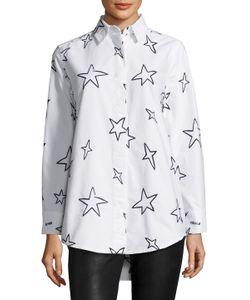 Etre Cecile | Stars Oversize Cotton Shirt