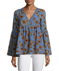 Lucca Couture | Kate Print Blouse