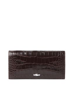 Longchamp | Roseau Patent Leather Continental Wallet
