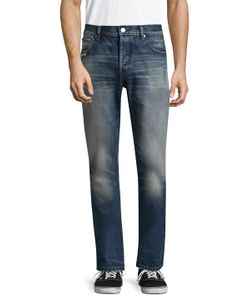 Earnest Sewn   Bryant Cotton Slouchy Slim Jeans