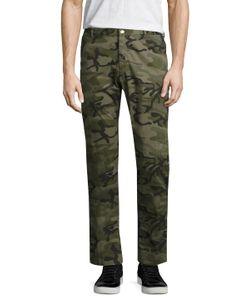 Avio | Camouflage Cotton Trousers