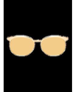 LINDA FARROW LUXE | Mirrored Clubmaster Frame