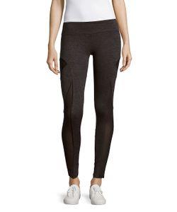 Lanston Sport | Textured Paneled Leggings
