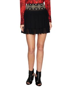 Pierre Balmain | Embellished Tiered Mini Skirt