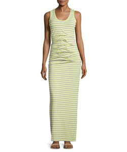 Nicole Miller | Jersey Striped Maxi Dress