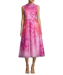 Monique Lhuillier | Sleeveless Flared Dress