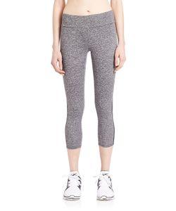 Lanston Sport | Heathered Side Mesh Leggings