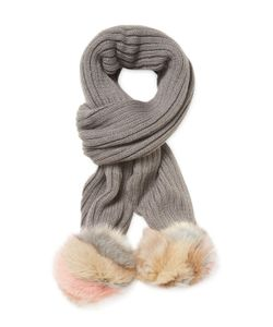 JOCELYN | Fox Fur Scarf
