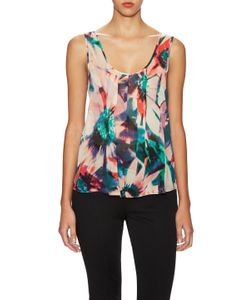 Nicole Miller | Tropical Sleeveless Top