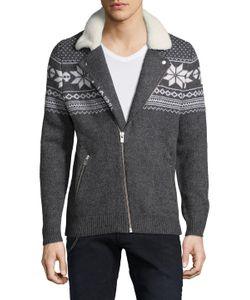 The Kooples   Lambswool Jacquard Knitwear
