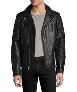 Karl Lagerfeld | Karl Leather Moto Jacket