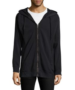 Blk Dnm | 80 Hood Solid Sweatshirt
