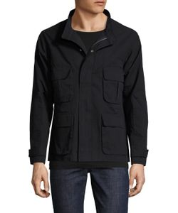 Shades Of Grey By Micah Cohen | Solid Patch Pocket Field Jacket