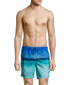 Sundek | Ocean Photo 16 Elastic Waist Swim Shorts