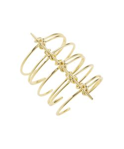 Noir | Costal Coiled Link Statement Bracelet