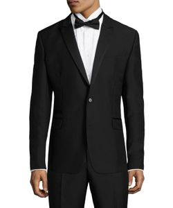 Blk Dnm | 25 Wool Welted Tuxedo