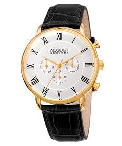 August Steiner | Slim Quartz Multifunction Watch 44mm