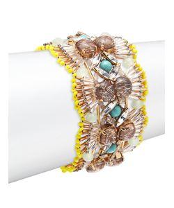 TATABORELLO | Crystal Studded Fan Bracelet