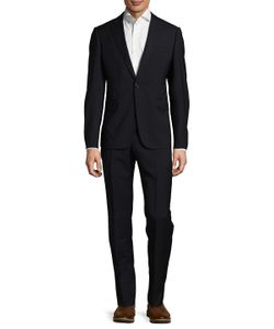 Armani   Wool Solid Suit