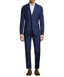 J. Lindeberg | Donnie Solid Notch Lapel Suit