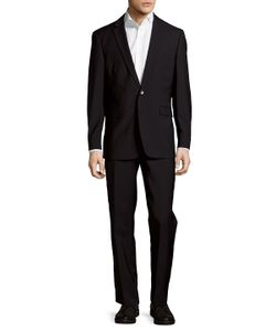 Vince Camuto | Wool Buttoned Slim-Fit Suit