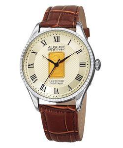 August Steiner | Ingot Textured Dial Watch 41mm
