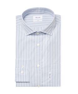 Façonnable | Striped Club Fit Dress Shirt