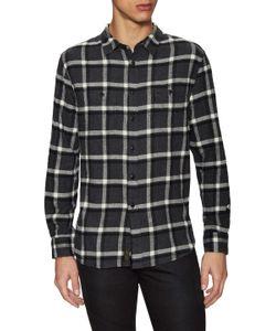 Jachs   Flannel Spread Collar Sportshirt