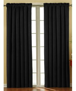 ECLIPSE | Suede Blackout Window Curtain Panel
