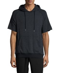 Shades Of Grey By Micah Cohen | Short Sleeve Hooded Sweatshirt