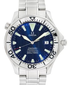 OMEGA | Vintage Seamaster Stainless Steel Watch 41mm