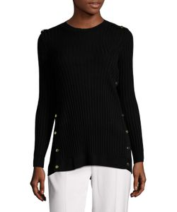 Oscar de la Renta | Ribbed Wool Sweater