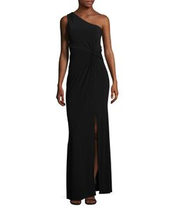 Laundry By Shelli Segal | One Shoulder Waist Twist Gown