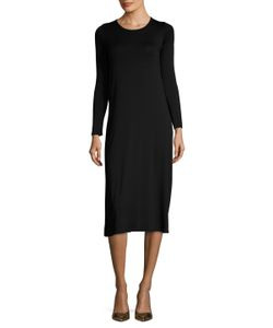 Rachel Pally | Donny Solid Midi Jersey Dress
