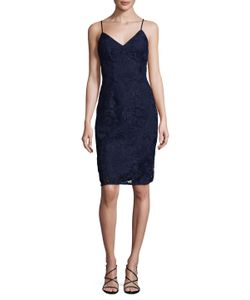 Laundry By Shelli Segal | Venise Slip Cocktail Dress