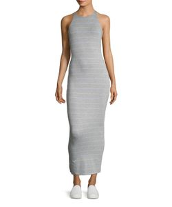 Torn By Ronny Kobo | Striped Jersey Sheath Dress