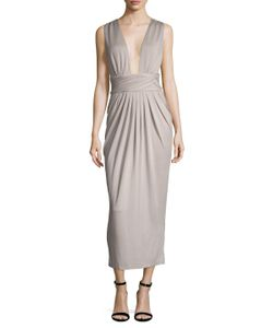 Torn By Ronny Kobo | Pleated Sheath Dress