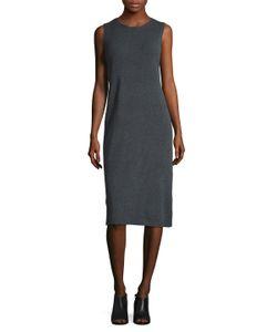 Eileen Fisher   Wool Side Split Shift Dress