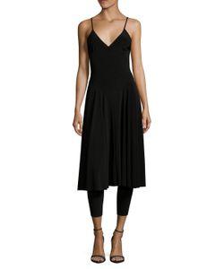 Norma Kamali | Slip Cat Flair Dress