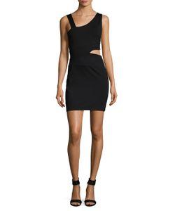 Susana Monaco   Vickey Asymmetrical Cut Out Sheath Dress