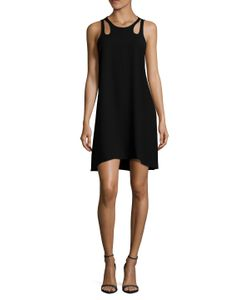 TIMO WEILAND | Emily Shoulder Cut Out Shift Dress